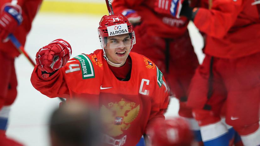 Денисенко прокомментировал победу над Германией на МЧМ по хоккею