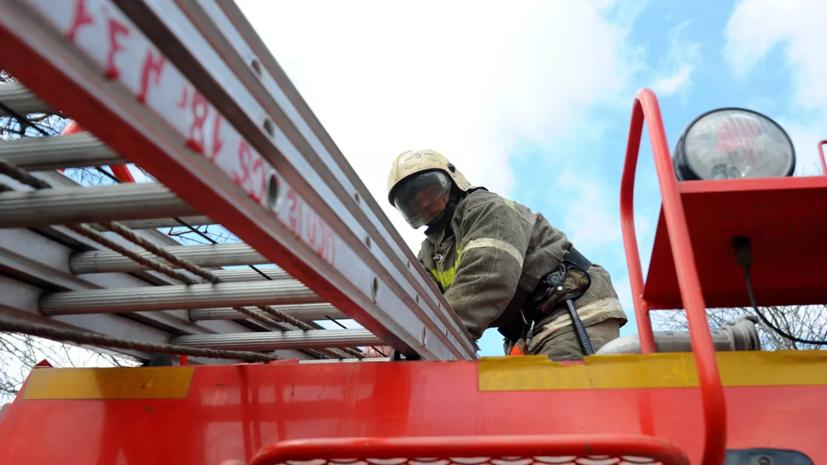 Шесть человек пострадали при пожаре в психдиспансере в Удмуртии