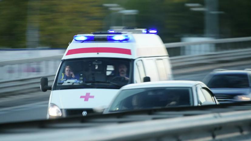 В Саратовской области опрокинулся междугородний микроавтобус