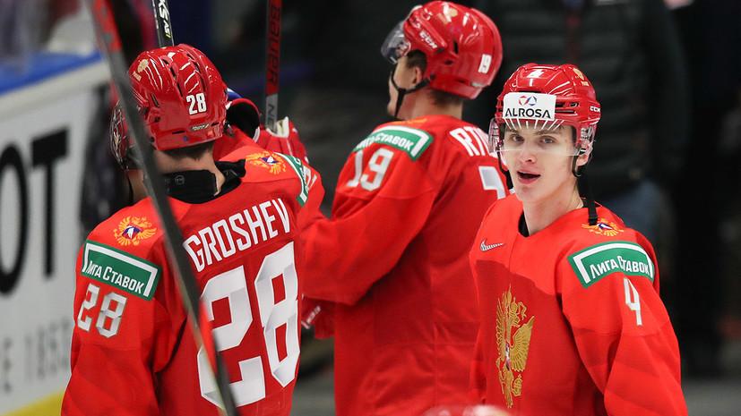 Замула ответил, что помогло реализовать большинство в матче с Германией на МЧМ по хоккею