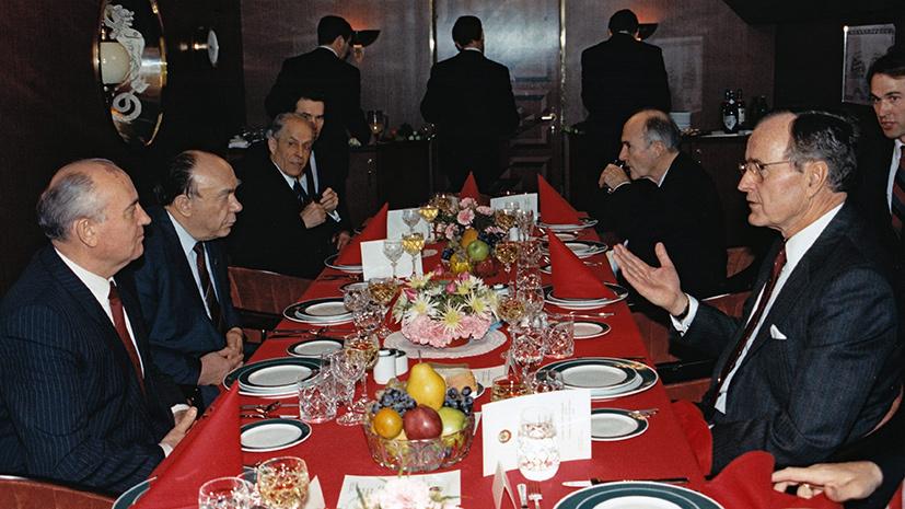 Смена эпох: как Мальтийский саммит стал символом окончания холодной войны