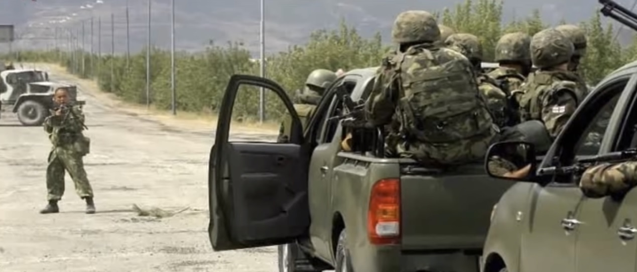 фото воин на дороге в южной осетии приоткрыли свое