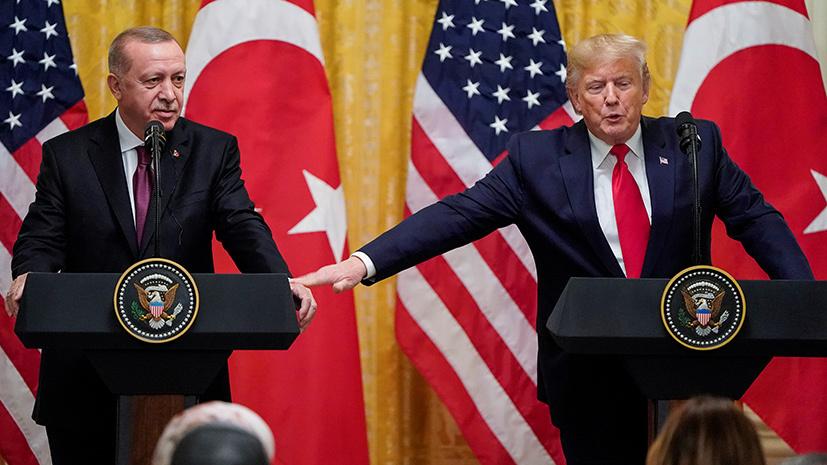 Стиль Вашингтона: какие санкции сенат США намерен ввести против Турции