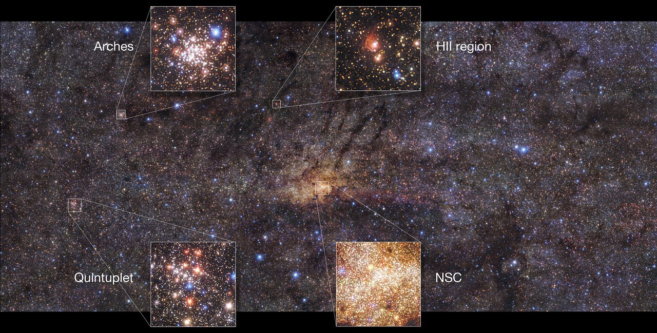 Однажды в галактике: открытие мощной вспышки звёздообразования позволит воссоздать историю эволюции Млечного Пути