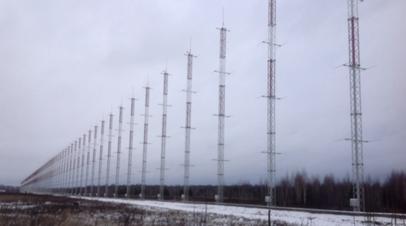 Радиолокационная станция (РЛС) нового поколения «Контейнер» в Мордовии