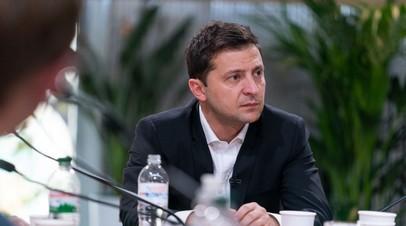 Зеленский пообещал ввести электронные водительские права в 2019 году