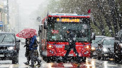 Снегопады и оттепель: как долго продлится непогода в столичном регионе