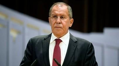 Лавров призвал ОБСЕ обратить особое внимание на ситуацию на Балканах