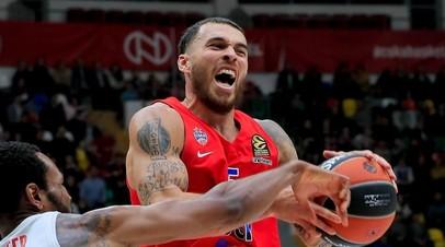 Бросок Джеймса с сиреной принёс ЦСКА победу над «Жальгирисом» в баскетбольной Евролиге