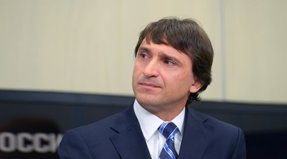 Президент Федерации тяжёлой атлетики России Максим Агапитов