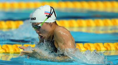 Пловчиха Темникова завоевала золото на дистанции 200 м брассом на ЧЕ в Глазго