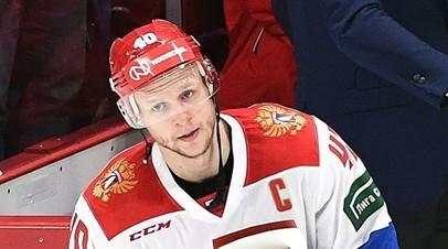 Кетов назначен капитаном сборной России по хоккею на Кубке Первого канала