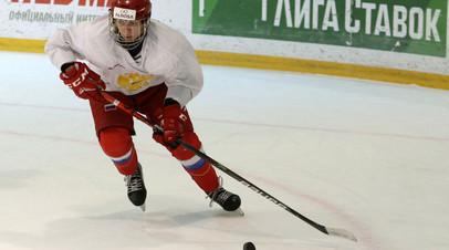 Юниорская сборная России по хоккею разгромно проиграла США на Мировом кубке вызова