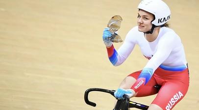 Войнова завоевала бронзу на этапе КМ по велотреку в Брисбене