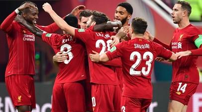 Футболисты «Ливерпуля» во время матча с «Монтерреем»