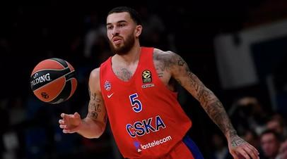 Баскетболист ЦСКА Джеймс в третий раз за сезон признан MVP тура в Евролиге