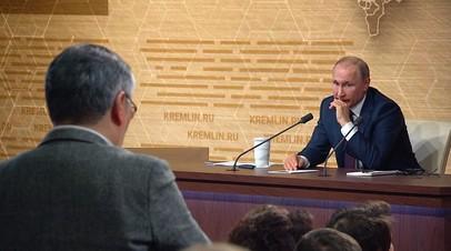 «Типун вам на язык»: Путин в ответ японскому журналисту об угрозе ядерной войны