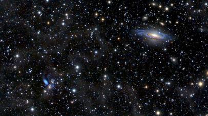 Созвездие Пегаса и ближайшие галактики