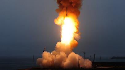 Пуск ракеты Minuteman