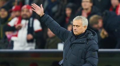 Моуринью скептически отозвался о назначении Артеты на пост главного тренера «Арсенала»