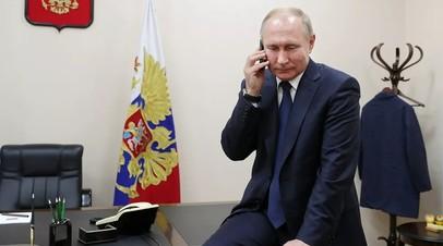 Путин пообщался с попавшим в Сочи благодаря «Ёлке желаний» мальчиком