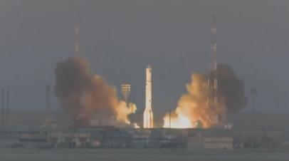 С Байконура стартовала ракета «Протон-М» с метеоспутником «Электро-Л»