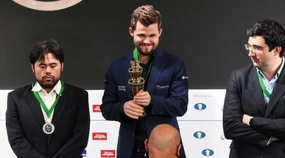Бронза Крамника, рекорд Карлсена и триумф Лагно: в Москве завершился чемпионат мира по блицу