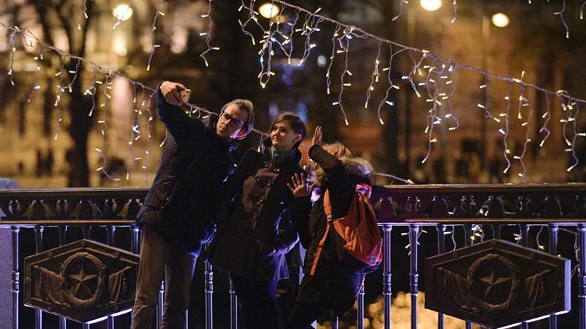 В новогодних гуляниях по всей России приняли участие 6,5 млн человек