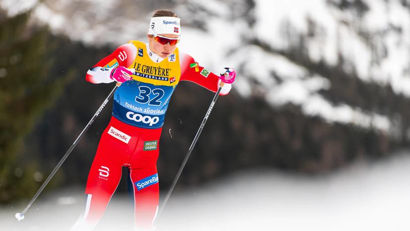 Эстберг одержала победу в гонке преследования на 10 км на «Тур де Ски»