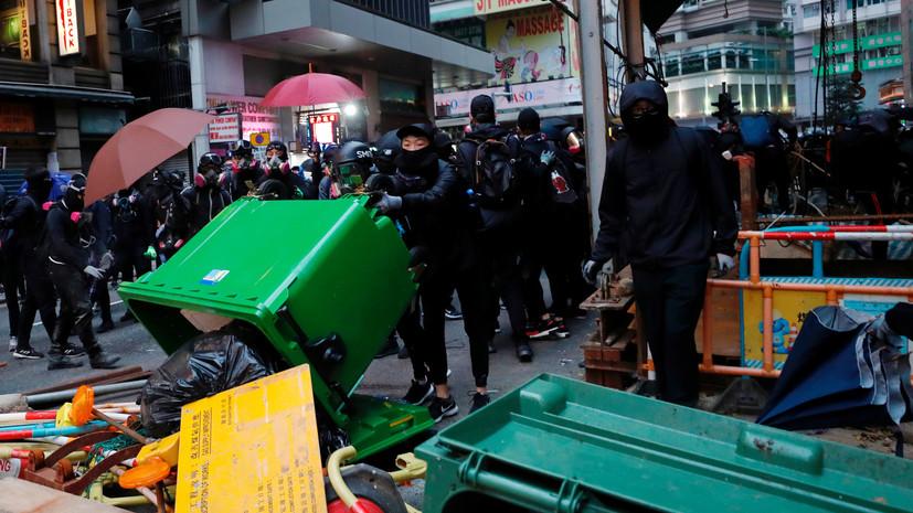 Более 1 млн человек приняли участие в акции протеста в Гонконге