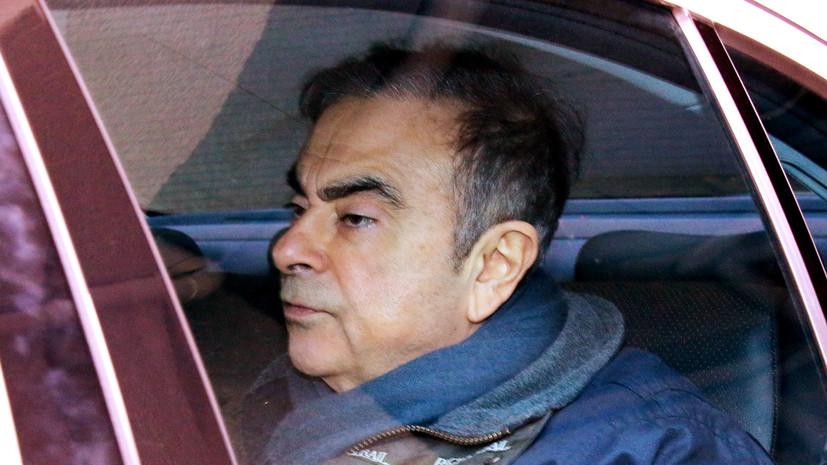 В Ливане отрицают причастность к побегу Гона из Японии