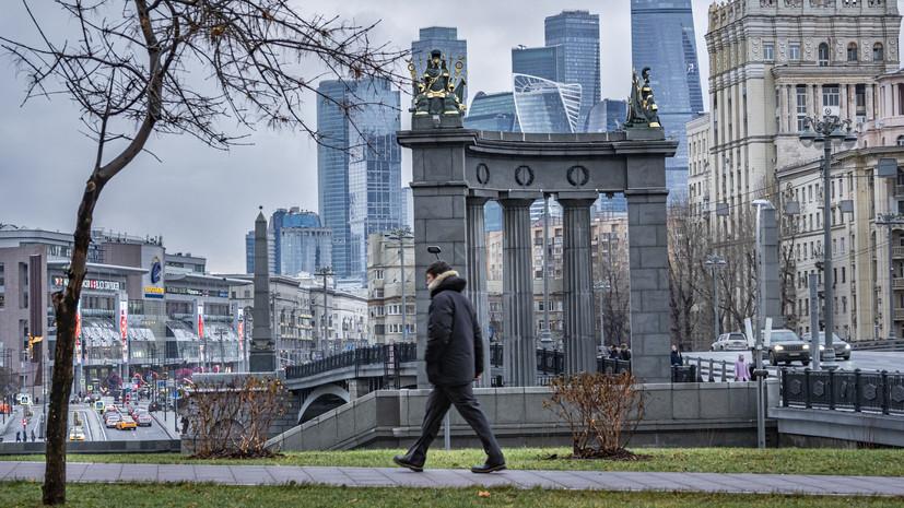 В Москве 2 января ожидается до +2 °С