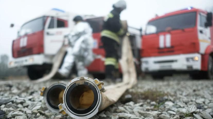 Пожар в жилом доме в Астрахани локализован