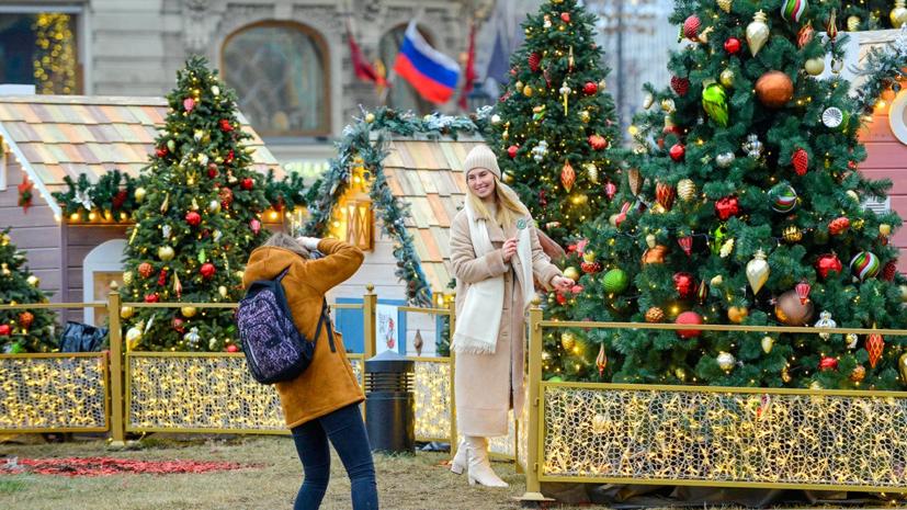 Число посетителей фестиваля «Путешествие в Рождество» в Москве достигло 15 млн
