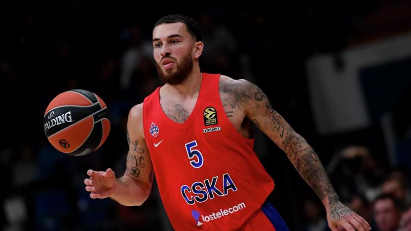 Воронцевич рассказал, что у баскетболиста ЦСКА Джеймса есть вставной зуб