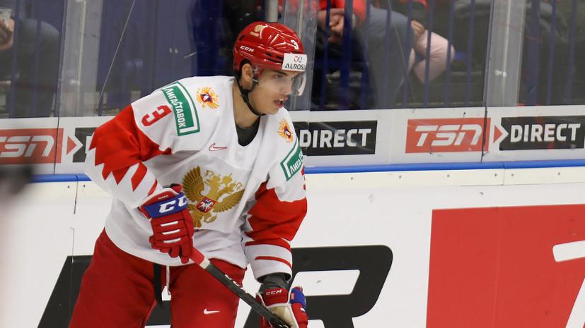 Швейцария и Россия играют вничью после первого периода матча МЧМ по хоккею
