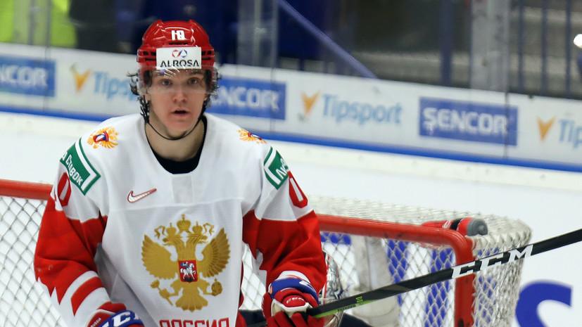 Воронков открыл счёт в матче Швейцария — Россия на МЧМ