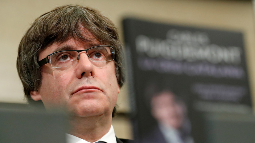 Суд в Бельгии приостановил европейский ордер на арест Пучдемона