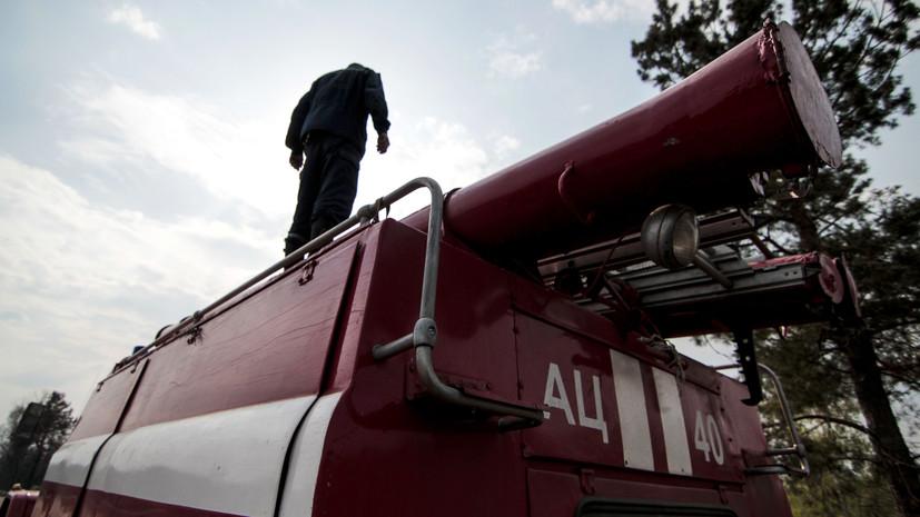 В Херсонской области при пожаре погибли два человека