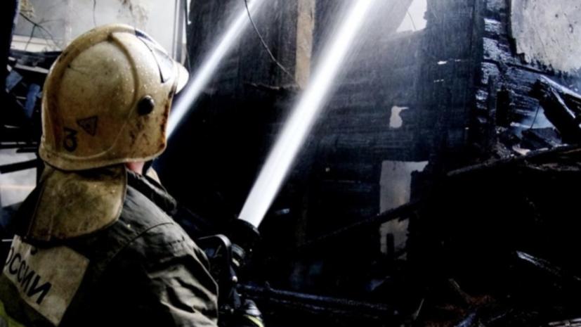 Два человека погибли при пожаре под Самарой