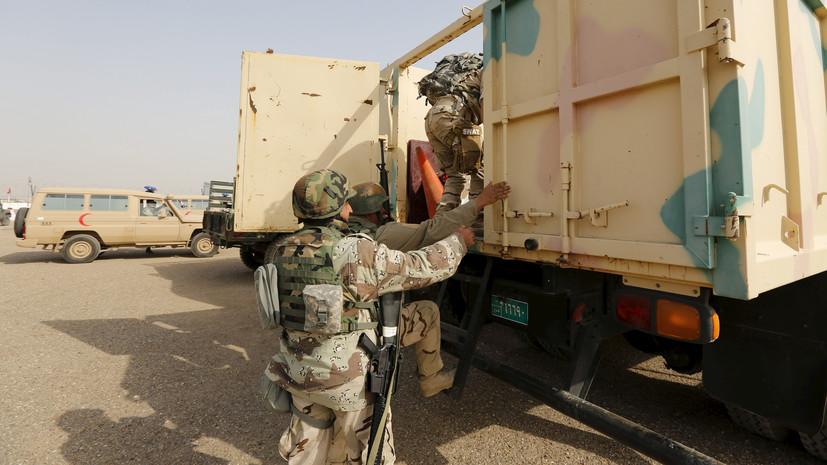 СМИ: Как минимум 12 иракских военных пострадали при обстреле Багдада