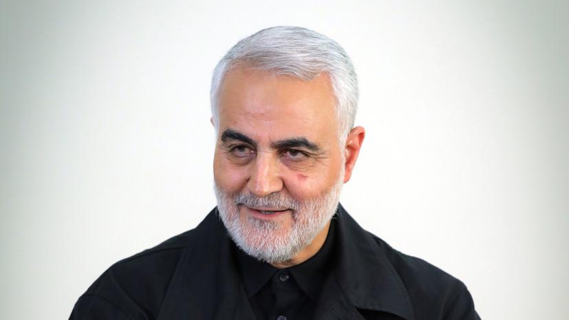 В Иране пригрозили США местью за гибель генерала КСИР