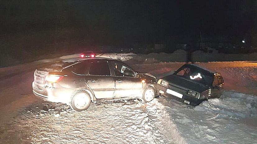 Три человека пострадали в ДТП в Башкирии