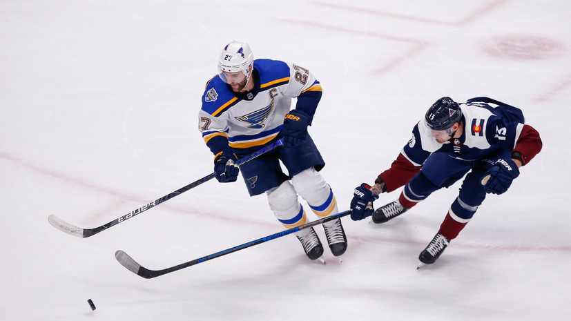 Результативный пас Ничушкина помог «Колорадо» одолеть «Сент-Луис» в НХЛ