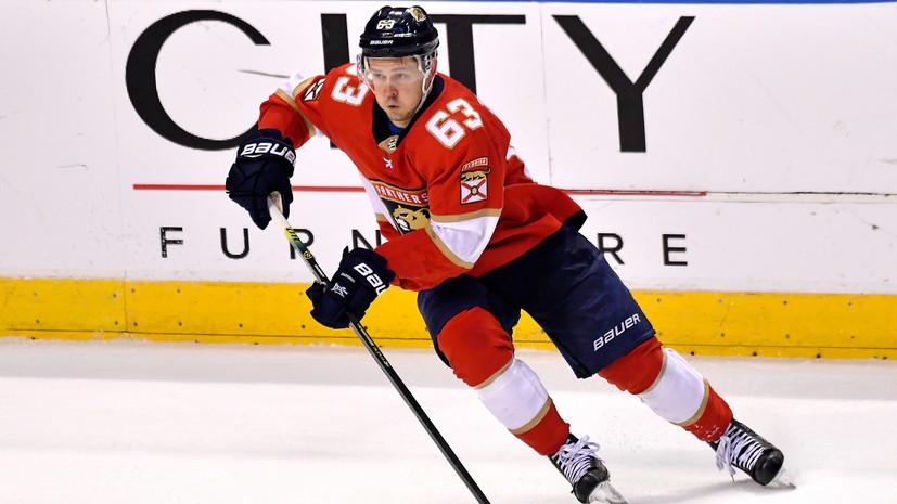 Дадонов признан третьей звездой дня в НХЛ
