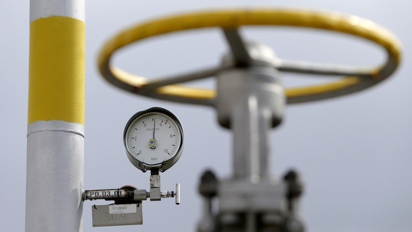На Украине заявили о выполнении заявок «Газпрома» по транзиту газа