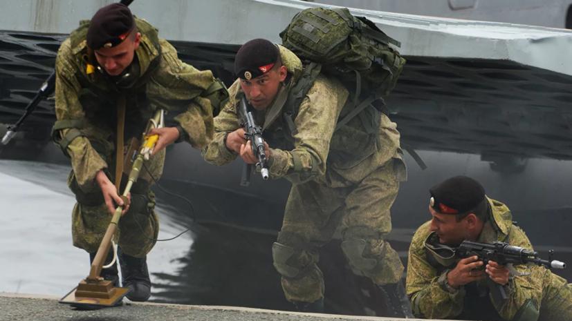 Эксперт оценил позиции российской морской пехоты в рейтинге The National Interest