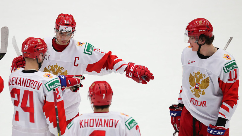 Стали известны сочетания молодёжной сборной России перед матчем со Швецией