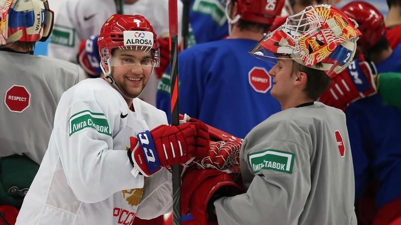 «У нас гибридная оборона, которая работает во всех зонах»: о чём говорят перед полуфиналом МЧМ по хоккею Россия — Швеция