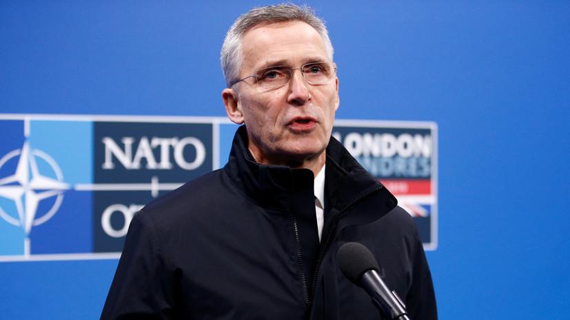 Генсек НАТО и глава Пентагона обсудили по телефону ситуацию в Ираке